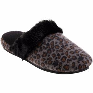 TOTES ISOTONER Women's Low Pile Cheetah Pippa Clog